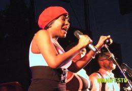 Tanika Charles performs MANIFESTO 08