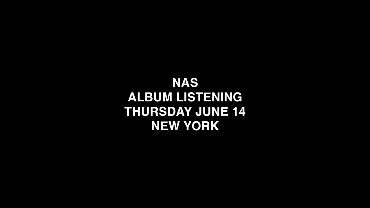 Die Listening-Party für Nas' Kanye West-Produced Album, 'Nasir,'Stream auf Youtube