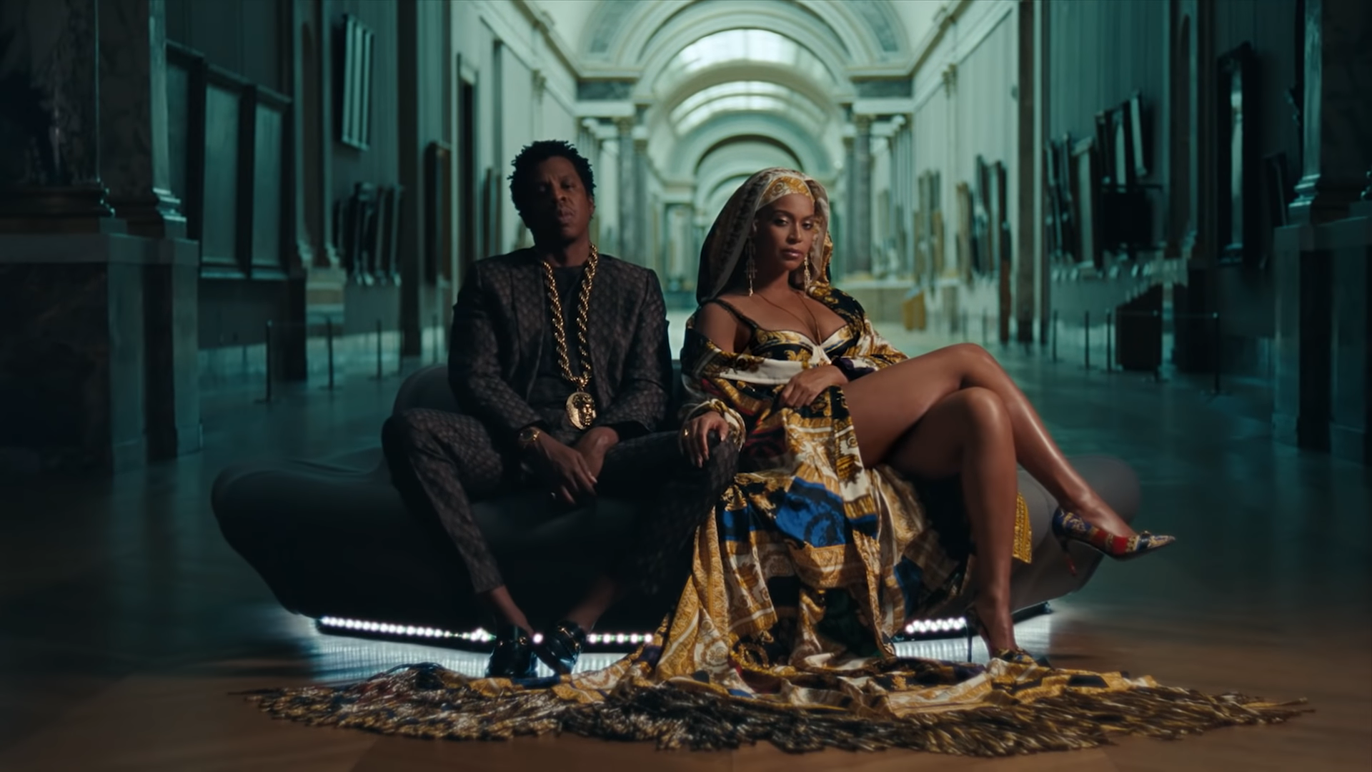 "The Carters dropped an entire surprise joint album ""Everything is Love"" and video for ""Ape Sh*t"""